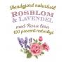 Ros & Lavendeltvål 100% Naturligt
