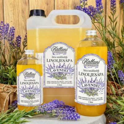 Linoljesåpa Lavendel Gruppbild