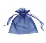Presentpåse Organza Midnattsblå