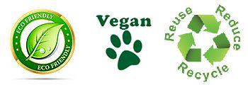 Eko Vegan Miljövänlig